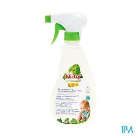 Nuby Citroganics Antibacteriële Spray Alle Oppervlakte 400 ml