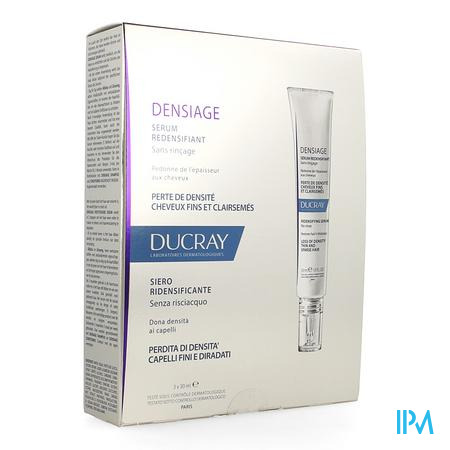 Ducray Densiage Verstevigende Serum 3x30ml