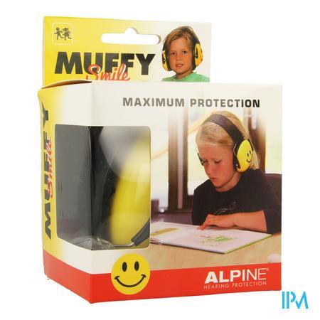 Alpine Muffy Koptelefoon Kids Smile/yellow