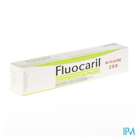 FLUOCARIL 250 MUNT  75ML