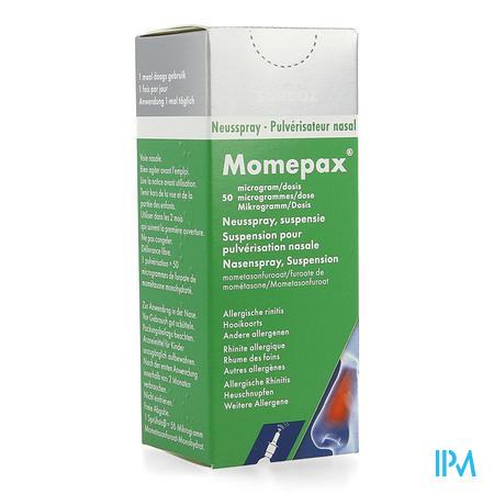 Momepax 50mcg Neusspray 1x140 Dosissen