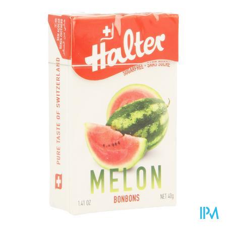 Halter Bonbon Watermeloen Zs 40 gr