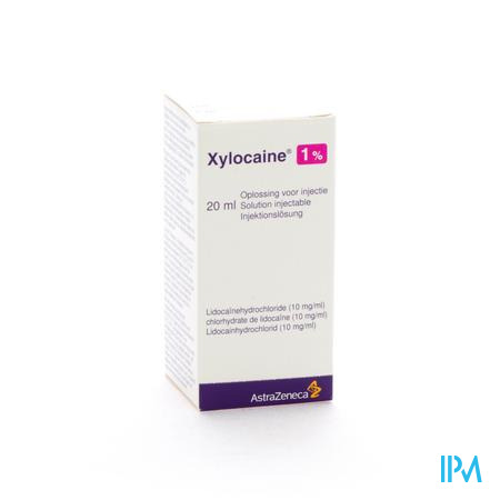 Xylocaine Inj 1x20ml 1%