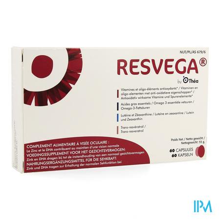 Afbeelding Resvega Voedingssupplement voor het Gezichtsvermogen 60 Capsules.
