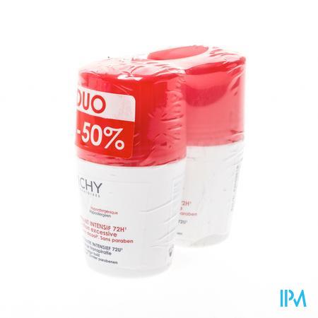 Afbeelding Vichy Stress Resist Deodorant Roller Anti-Transpiratie 72 uur Promo Duopack 2 x 50 ml.