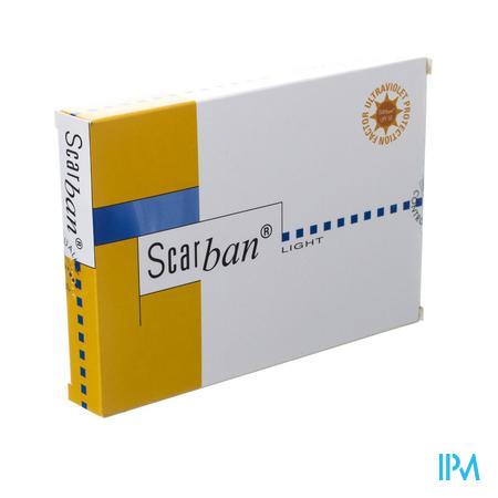 Scarban Light Silicone Sheet 5cm x 7,5cm 2 stuks