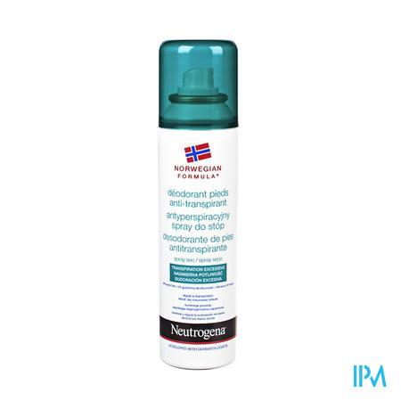 Neutrogena Noorse Formule Anti-transpirerende Voetdeodorant 150ml