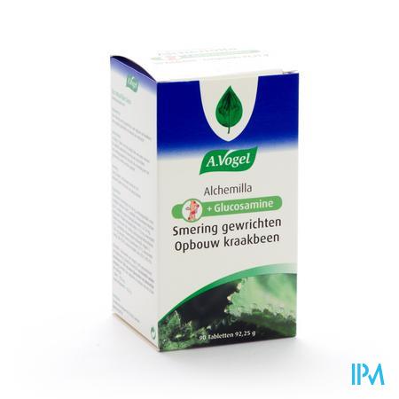 Afbeelding A. Vogel Alchemilla + Glucosamine voor Smering van Gewrichten en Opbouw van Kraakbeen 90 Tabletten.