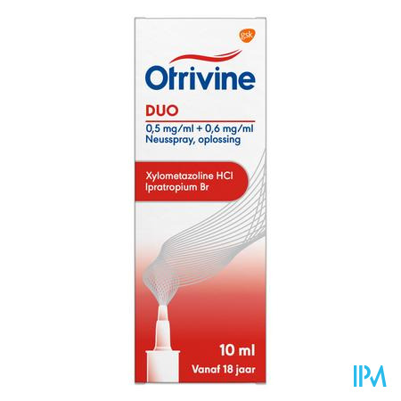 Otrivine Duo 0,5/0,6 Spray Nas 10ml