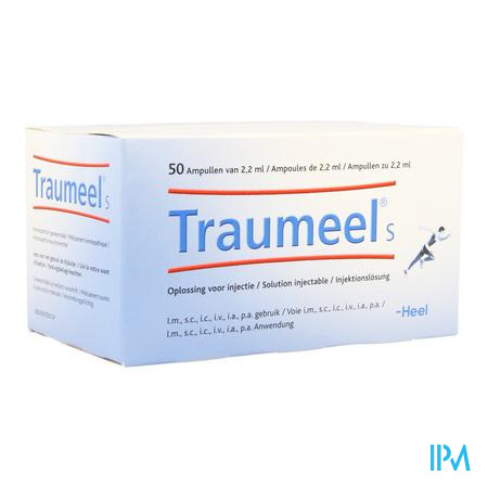 Traumeel S Amp 50x2,2ml Heel
