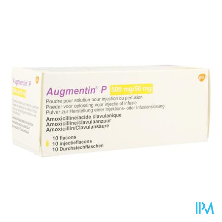 AUGMENTIN P 500MG/50MG 25 ML 10 ST