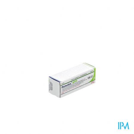 Humuline Nph Fl 10ml 100iu/ml