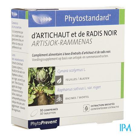 Phytostandard Artichaut-radis Noir Blist.comp 2x15  -  Pileje
