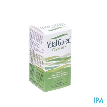 Vital Green Chlorella 200 comprimés