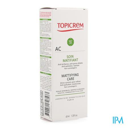 Topicrem Ac Matterende Vloeistof Tube 40ml