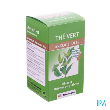 Arkogelules Thé Vert 150 capsules