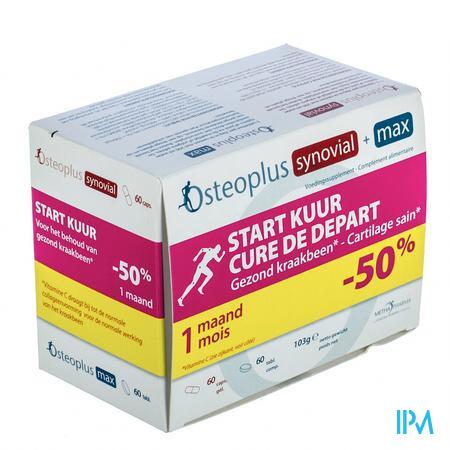 Osteoplus Startkuur 60 Tabletten + 60 Capsules