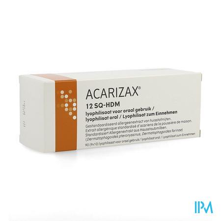 Acarizax Lyofil. Smelttablet 90