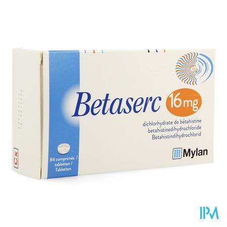 Betaserc Comp 84 X 16mg