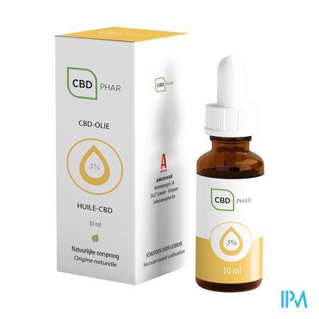 Cbd-olie 5% 10ml Cbd-phar