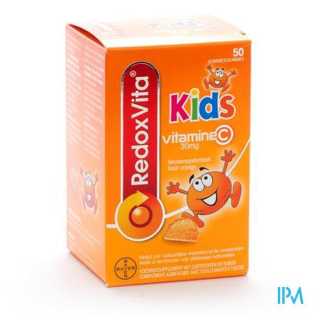 REDOXVITA KIDS GUMMIES 50
