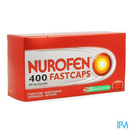 Nurofen 400 FastCapsule Capsule 20 X 400 mg