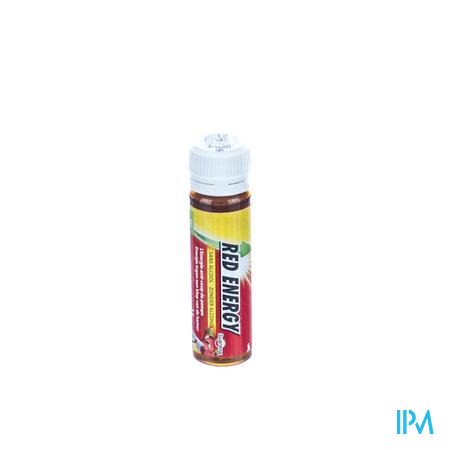 Ortis Red Energy Gember/Citroen 1 x 15 ml ampoule