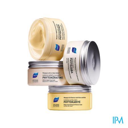 Afbeelding Phyto Phytocitrus Glans- en Kleurherstellend Masker voor Gekleurd Haar, Meches 200 ml.