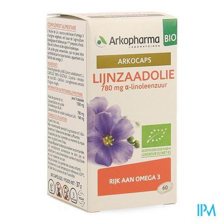 Arkocaps Lijnzaadolie Bio Caps 60