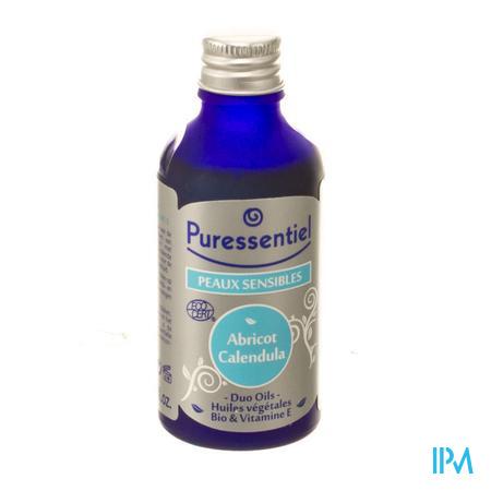 Puressentiel Abrikoos-Calendula Bio Plantaardige Olie 50ml