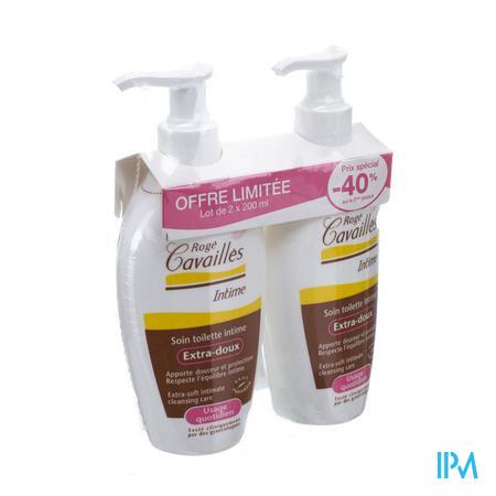 Roge Cavailles Zachte Gel Int.hygiene Klas.2x200ml