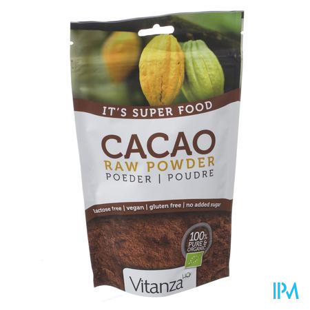 Afbeelding Vitanza Superfood Cacao Raw Powder 200gr.