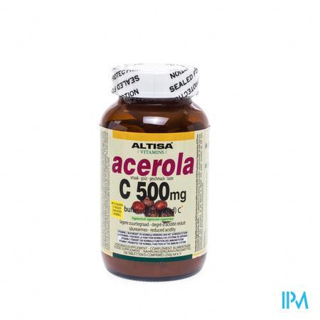 Altisa Vitamine C Acerola 100 comprimés à croquer