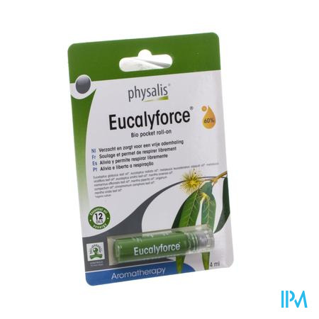Physalis Roll-on Eucalyforce Bio 4ml