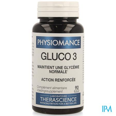 Gluco 3 Comp 90 Physiomance Phy318b