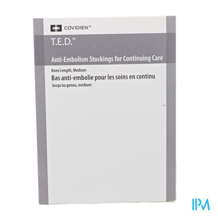Ted Rested Mi-bas 4435 Regular Noir Medium 1 pair