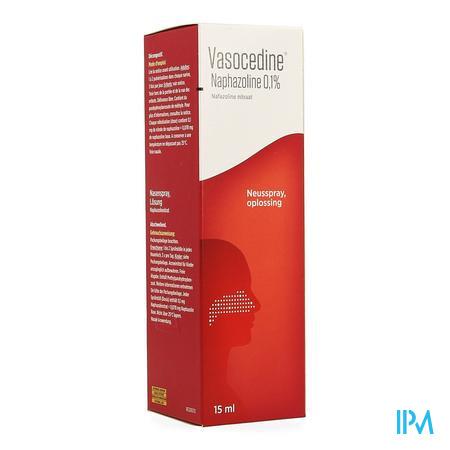 Vasocedine Naphazoline Spray 15 ml