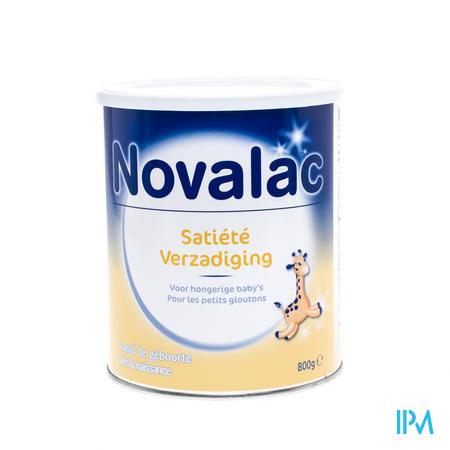 Novalac Satiété (0 à 36 mois)  Dès la Naissance  Poudre 800 g