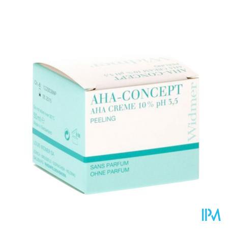 Widmer Creme Aha 10% N/parf Pot 50ml