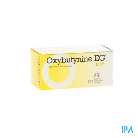 Oxybutynine Eg Comp 100 X 5mg