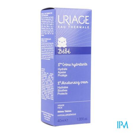Afbeelding Uriage 1ère Crème Hydraterende en Beschermende Gelaatscrème voor Baby's Tube 40 ml.