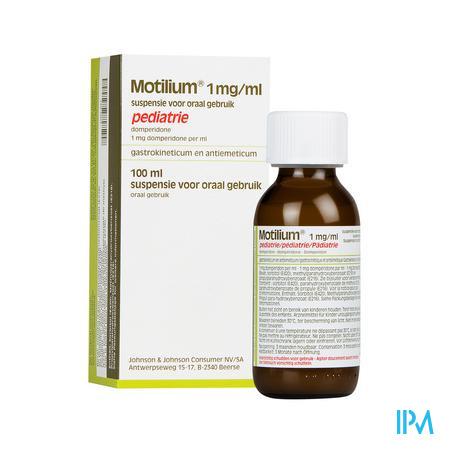 Motilium Pediatrie Susp Fl 100ml