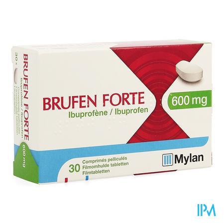 Brufen Forte 600 mg Filmomhulde Tabletten 30 X 600 mg