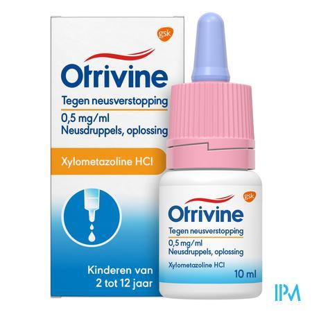 Otrivine Hydrat 0,5/1000 Druppels 10 ml