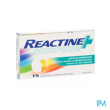 Reactine Pseudoephedrine Comp 14