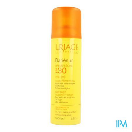 Afbeelding Uriage Bariésun Zonnemist SPF 30 met Dry Touch voor Gelaat en Lichaam 200 ml.