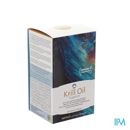 Krill Oil Superior Gelcaps 120x500mg