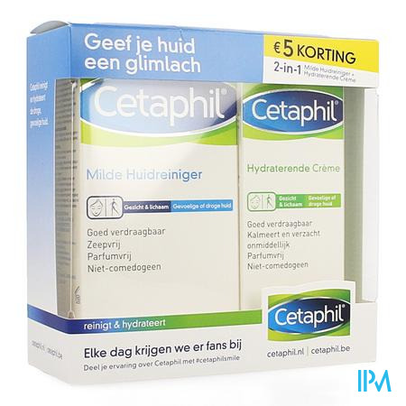 Cetaphil Promopack Droge + Gevoelige Huid Nl