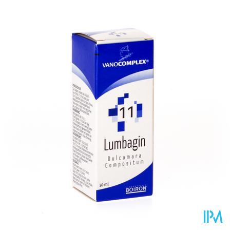 Vanocomplex 11 Lumbagin 50 ml