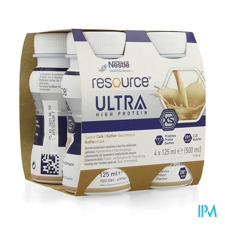 Resource Ultra Koffie 4x125ml
